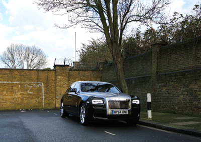 Image of the Rolls-Royce Ghost