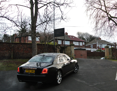 Image of the Rolls Royce Ghost