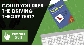 Driving licence theory test quiz