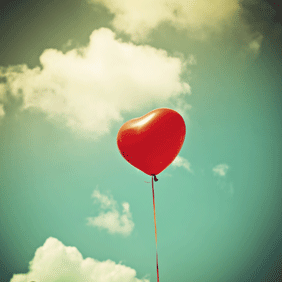 Image of a heart balloon