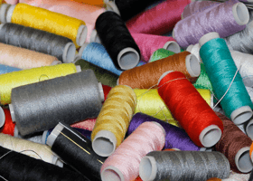 A photo of thread