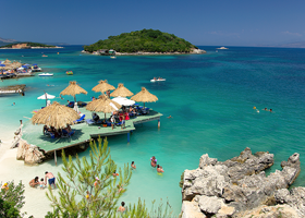 A photo of Ksamil, Albania