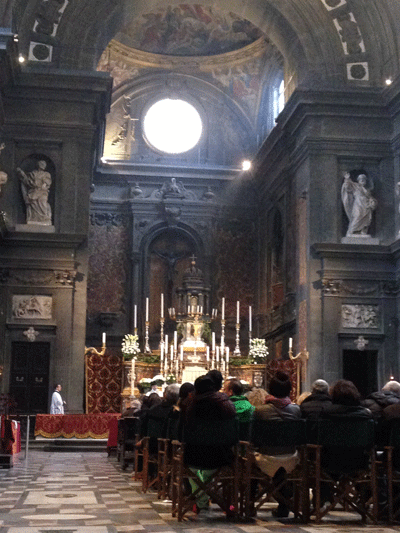 Image of mass in Florence
