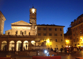 Image of Trastevere in Rome
