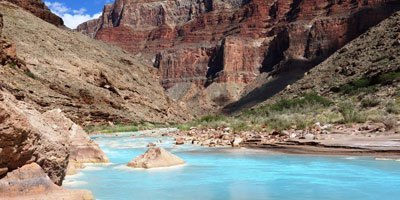 The Little Colorado river