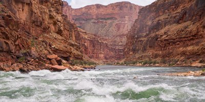 Rapids on the Grand Canyon's Colorado River