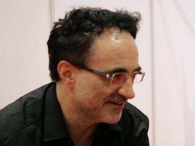 Noel Fitzpatrick being interviewed