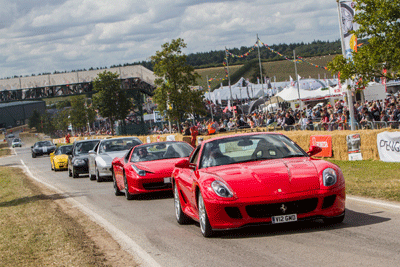 Image of cars at CarFest
