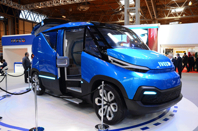 Image of Iveco Vision concept van