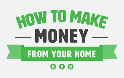 How to make money from your home