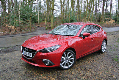 Image of the Mazda3