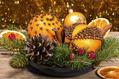 image of festive oranges