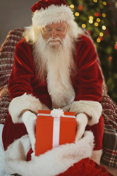 Image of Santa and his sack