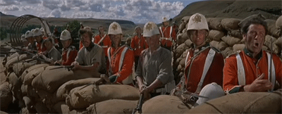 Image of scene from Zulu