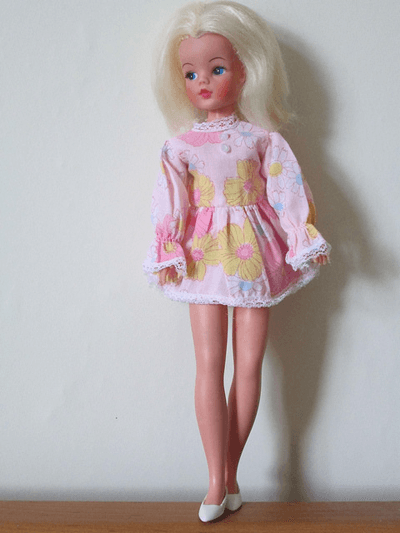 Image of a Sindy doll from the 70's