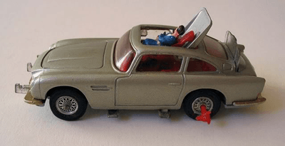 Image of a Corgi toy Aston Martin DB5
