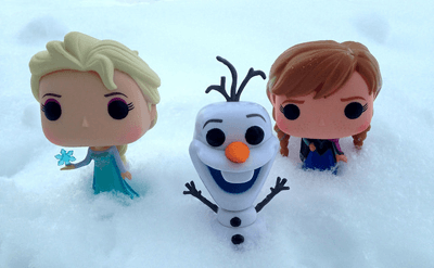 Image of Frozen toys