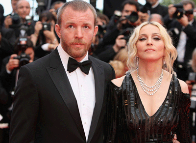 Image of Madonna and Guy Ritchie