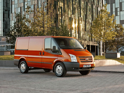 Image of a Ford Transit