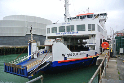 Image of Isle of Wight ferry