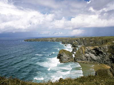 Image of a British coastline