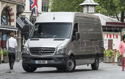 Image of a Mercedes Sprinter