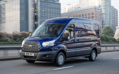 Image of a Ford Transit Custom