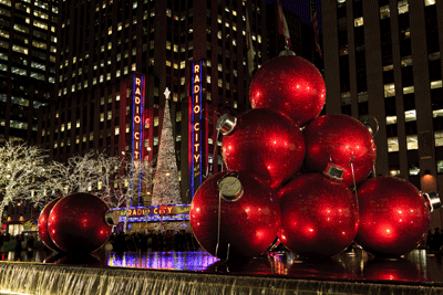 Image of New York at Christmas