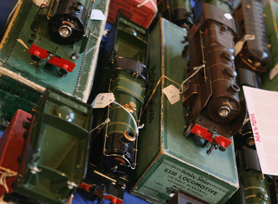 Image of toy trains