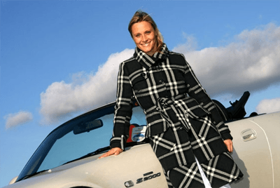 This is a photo of Fifth Gear presenter Vicki Butler-Henderson.