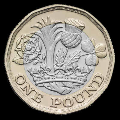 back of pound coin
