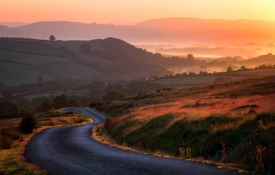 Image of Brecon Beacons road