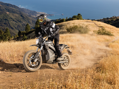 Zero electric motorcycle off road