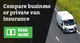Compare business or private van insurance