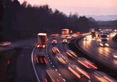 Image of a busy motorway