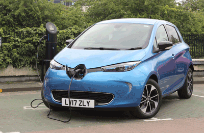 Image of the Renault Zoe