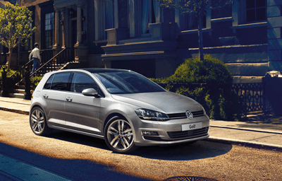 An image of the new VW Golf