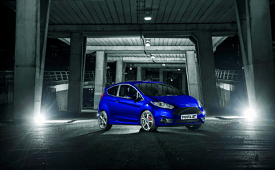 An image of the New Ford Fiesta