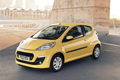 An image of the Peugeot 107