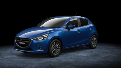 This is an image of the Mazda2