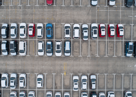 Image of cars in car park