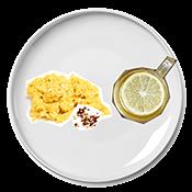 Jennifer Aniston's breakfast