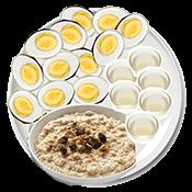 Brad Pitt's breakfast
